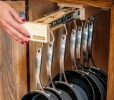 How To Organize Kitchen Cabinets Pots And Pans: 5 Ideas Using Drawers, Shelves And Lazy Susan