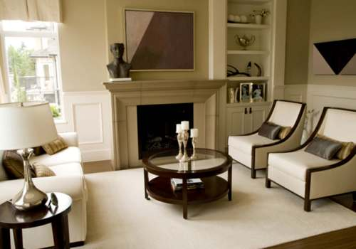 How To Arrange Furniture In A Living Room With 2 Focal