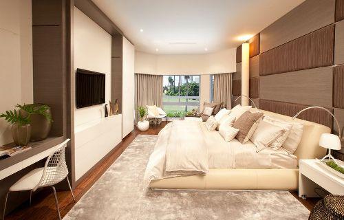 Long Rectangular Bedroom Decor