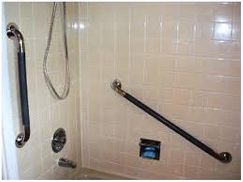 Metal Bathroom Grab Rails