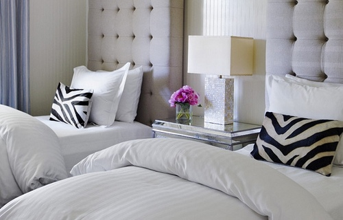 Excellent Decorative Pillows on a Bed