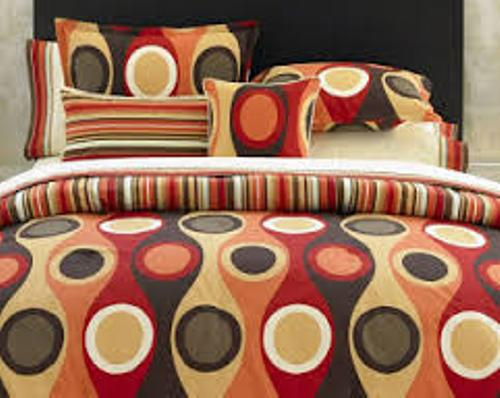 Fabulous Decorative Pillows on a Bed